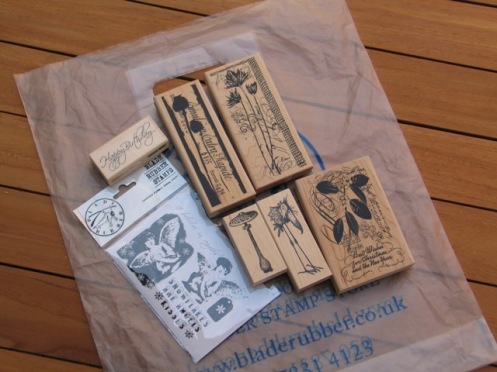 Blade Rubber Stamps 002