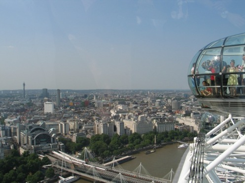 London Eye uitzicht 003